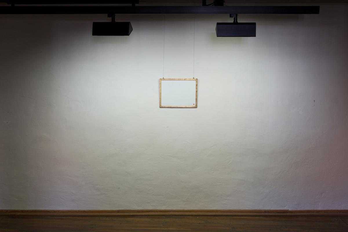 Philipp Valenta - Arbeit Sammlung Angermuseum Erfurt, Ausstellungsansicht Too Big To Fail, Galerie Waidspeicher, Kunstmuseen Erfurt