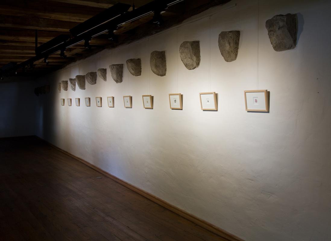Philipp Valenta - Ausstellungsansicht Too Big To Fail, Galerie Waidspeicher, Kunstmuseen Erfurt