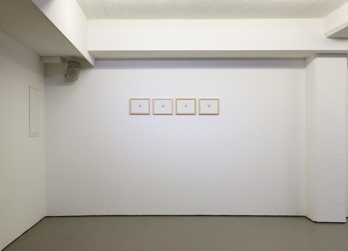 Philipp Valenta - Ausstellungsansicht The Road To Success, kunstwerden e.V., Essen