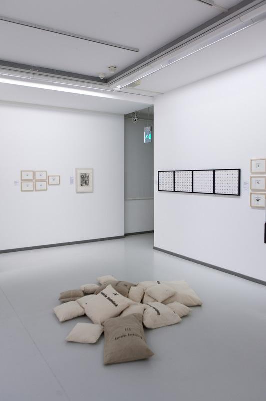 Philipp Valenta - Ausstellungsansicht Lets buy it, LUDWIGGALERIE Schloss Oberhausen