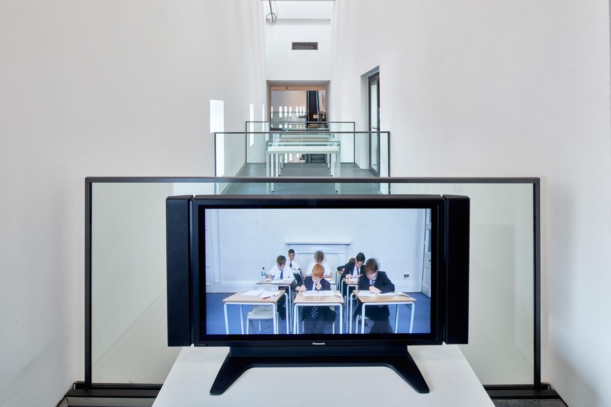 Philipp Valenta - Ausstellungsansicht DEW21-Kunstpreis, Dortmunder U (Foto Jürgen Spiler)