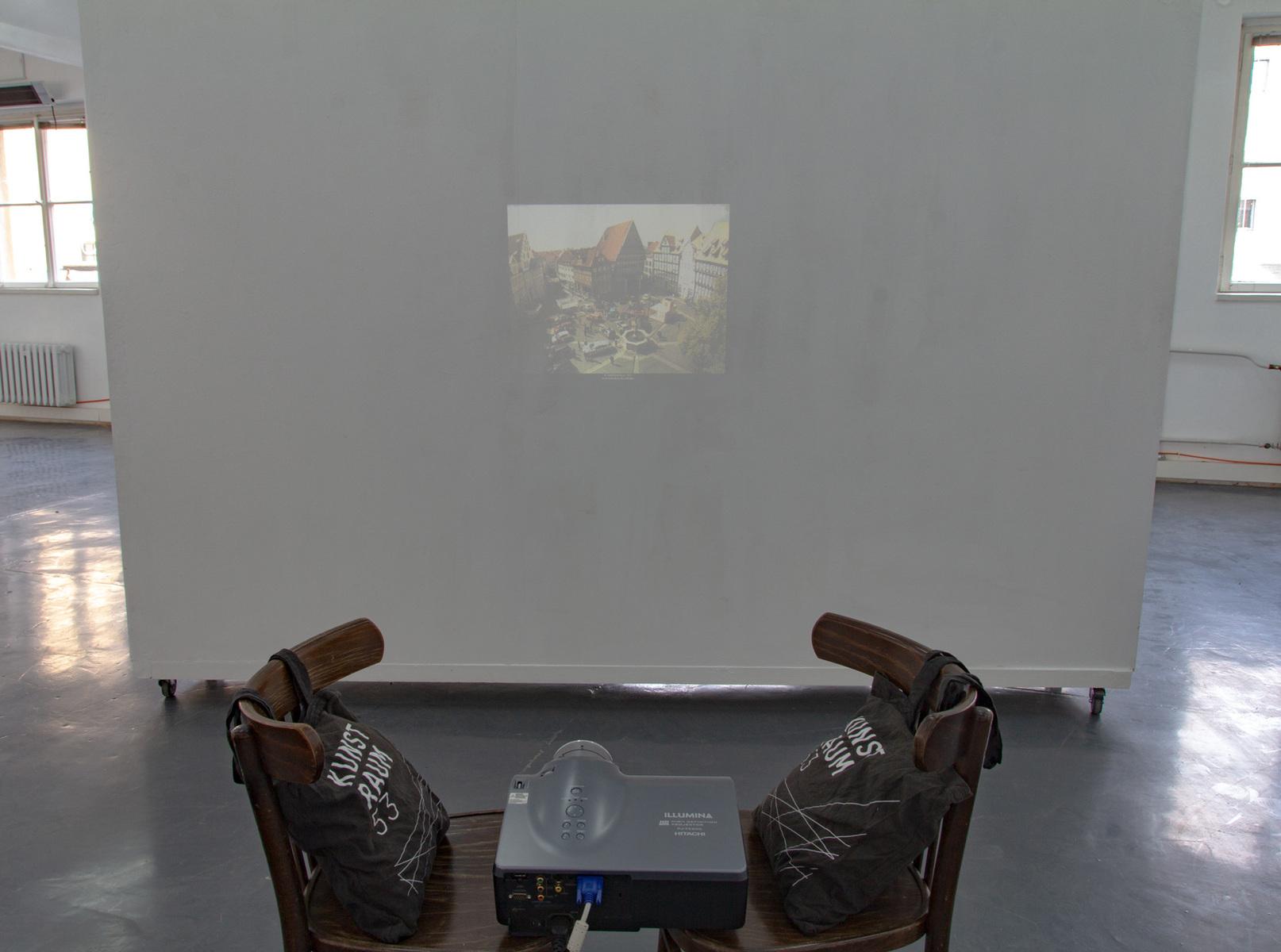 Philipp Valenta - Hildesheim, Franziska Harnisch und Philipp Valenta, Videoinstallation und Performance, 2019