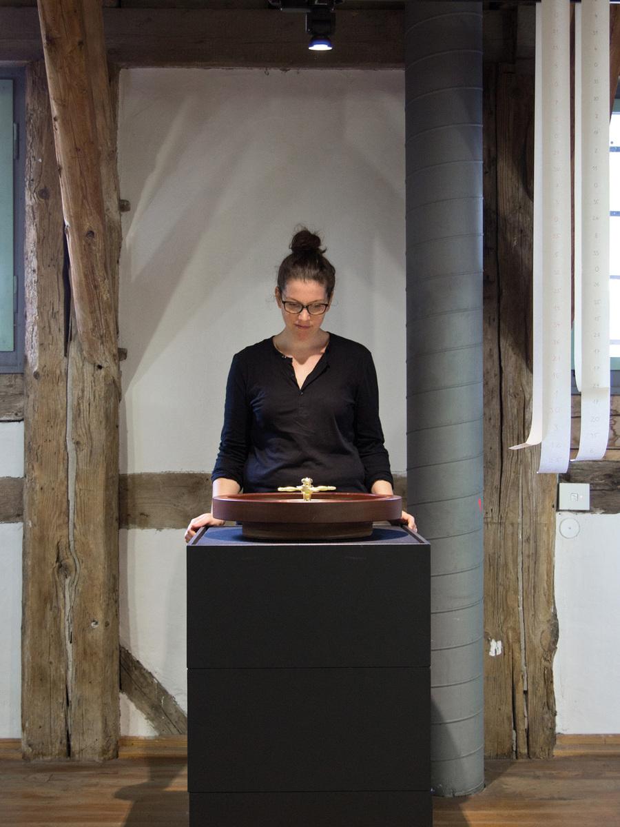 Philipp Valenta - Dokumentation der Performance, Mitspielerin Franziska Harnisch