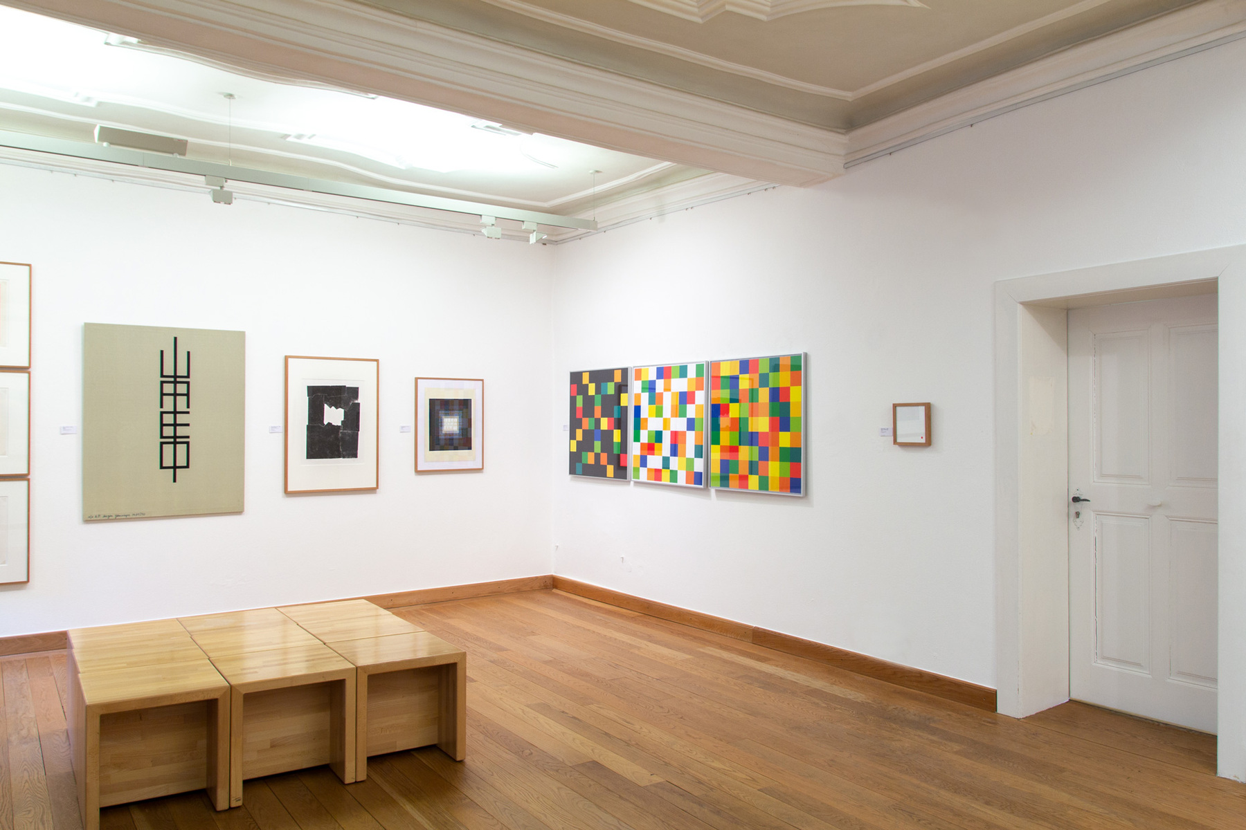 Philipp Valenta - Arbeit Sammlung Kunstmuseum Bayreuth, Ausstellungsansicht Abstraktion/Konkretion/Konzeption - Platons Erben, Kunstmuseum Bayreuth