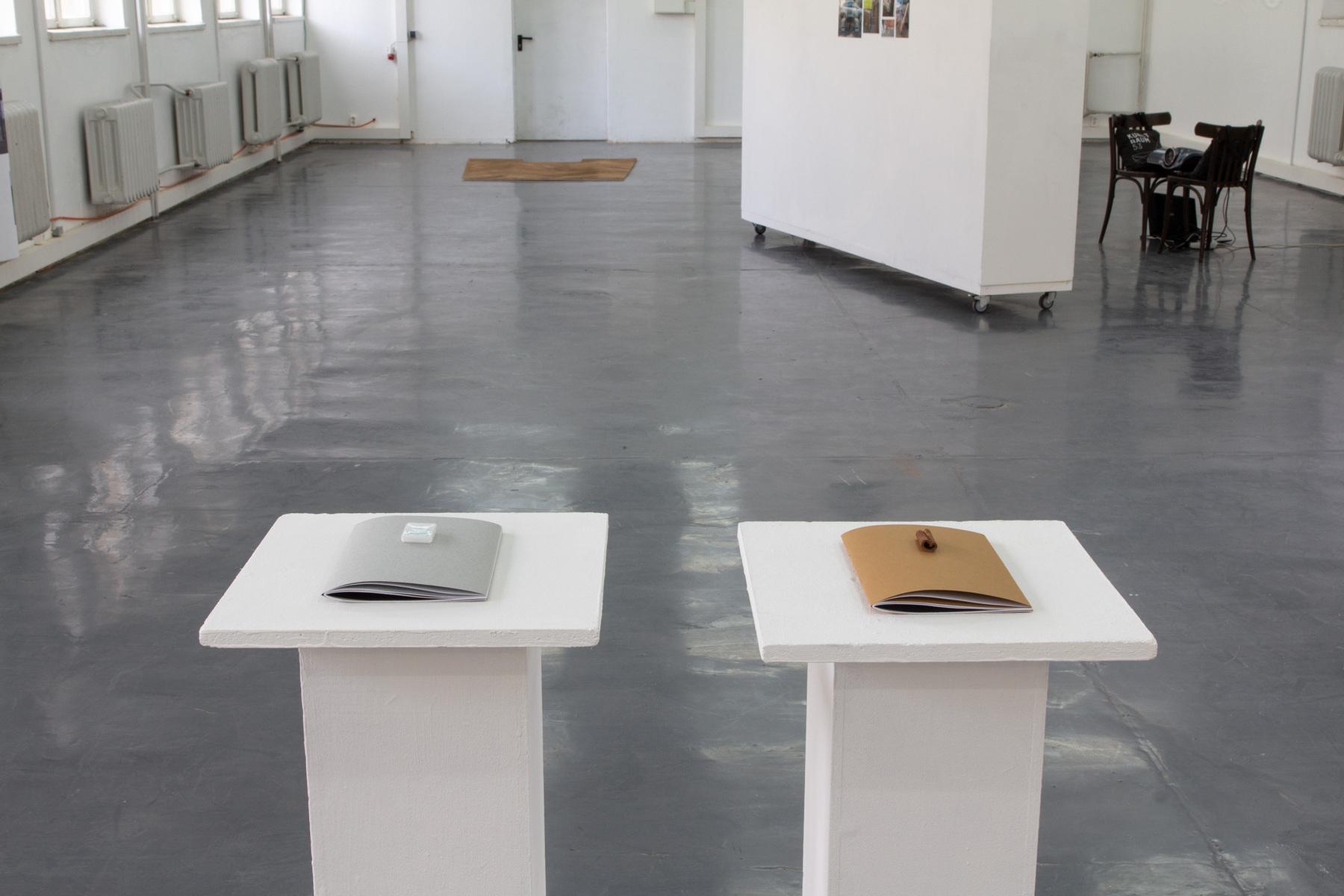 Philipp Valenta - Kaneelraum, Franziska Harnisch und Philipp Valenta, zwei Dokumentationshefte, 2015/2019