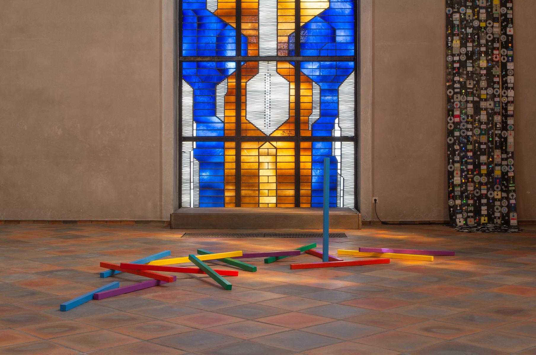 Philipp Valenta - Ausstellungsansicht / Exhibition View St. Marien Herne-Eickel