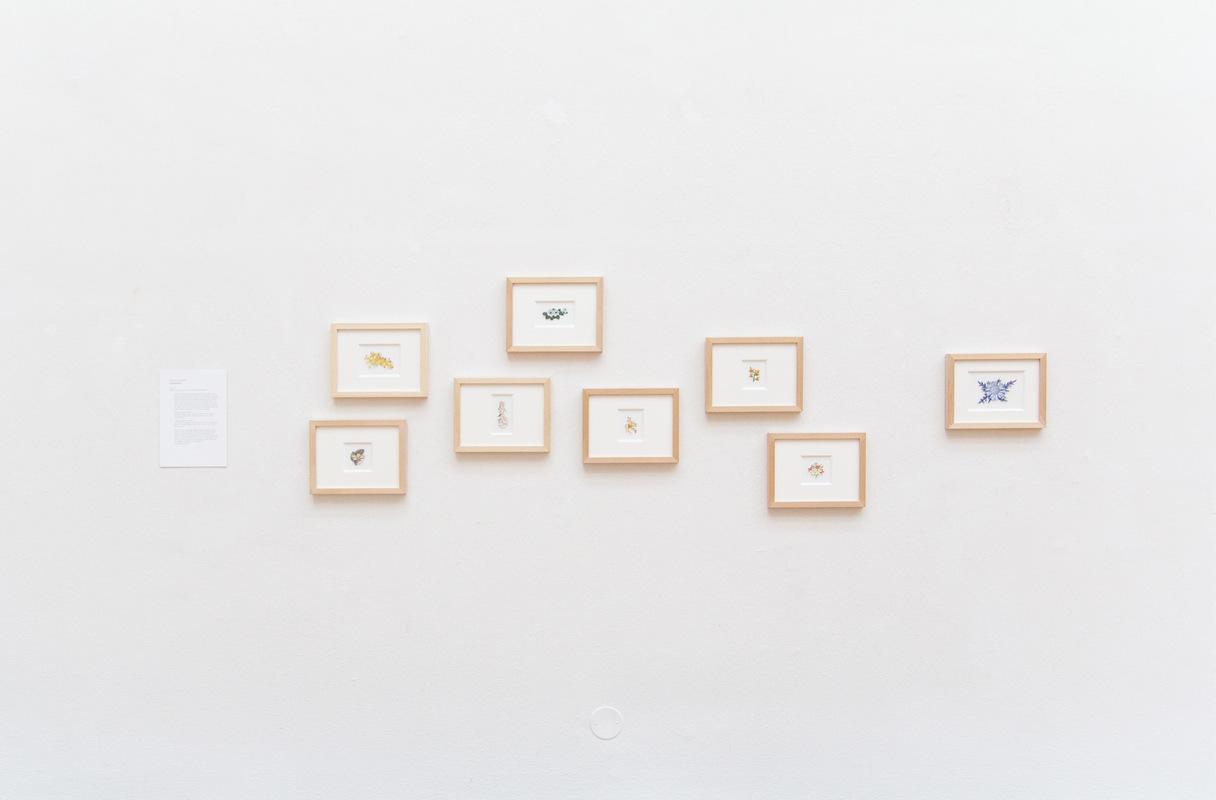 Philipp Valenta - Ausstellungsansicht Bauhaus Studio 100, Kunsthalle Harry Graf Kessler, Weimar