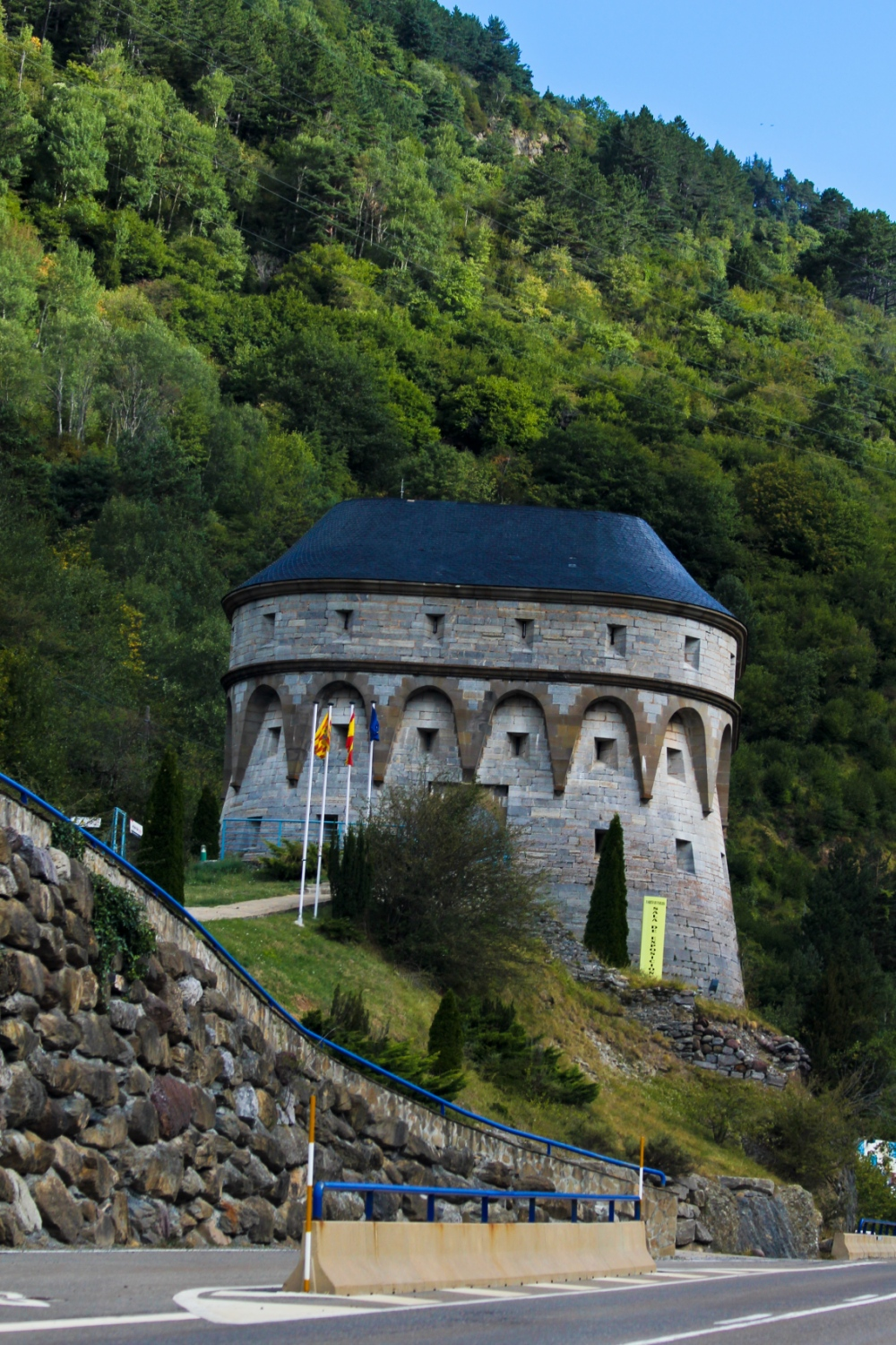 Cristina Sánchez Martínez - Tower of musketry - Canfranc