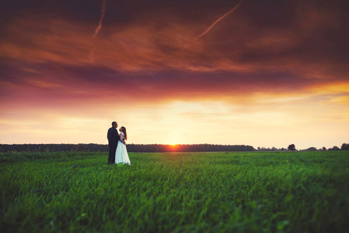 DBG Photography - zachód słońca, plener ślubny Łódź