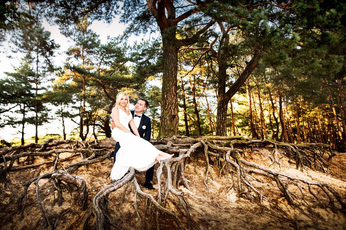 DBG Photography - Plener ślubny w lesie, plener ślubny Tuszyn, plener Łódź