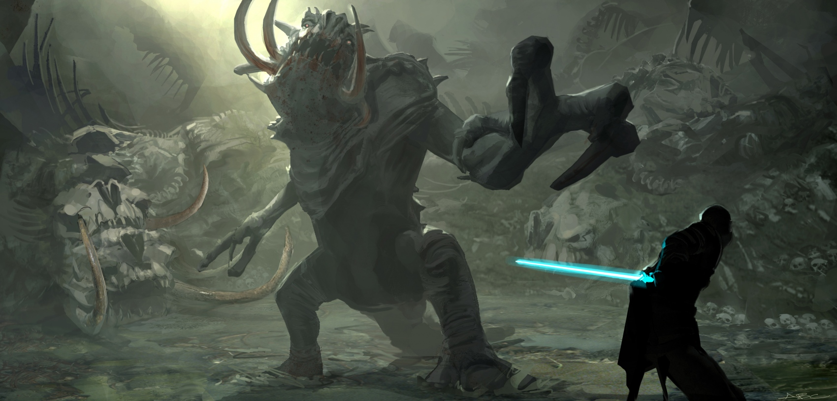 The Force Unleashed - ART BY ABC