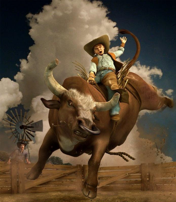 NANDLASKAR- DIGITAL SCULPTOR - Young Rodeo- Cgtalk Spectacular Challenge