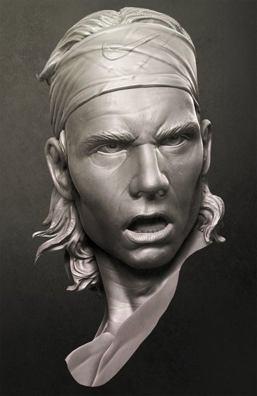 NANDLASKAR- DIGITAL SCULPTOR - Nadal-QuickSketch