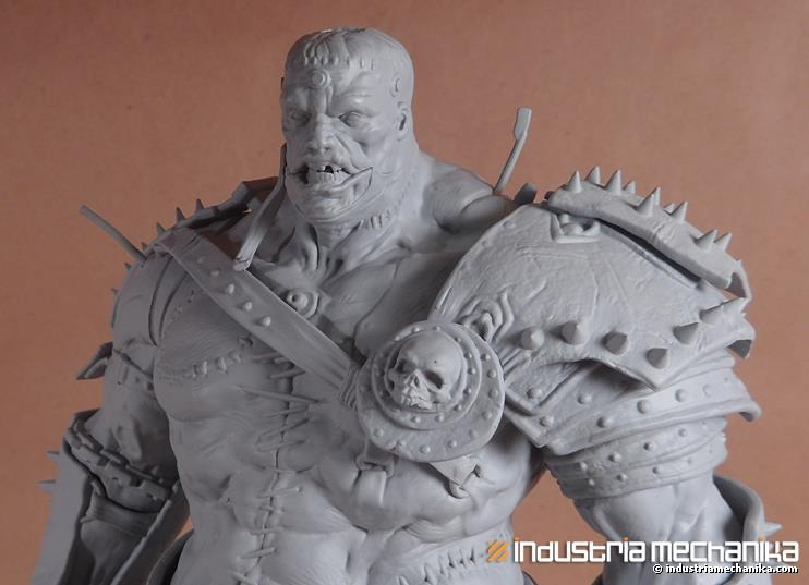 NANDLASKAR- DIGITAL SCULPTOR - Frankenstein Warrior 3D-Print