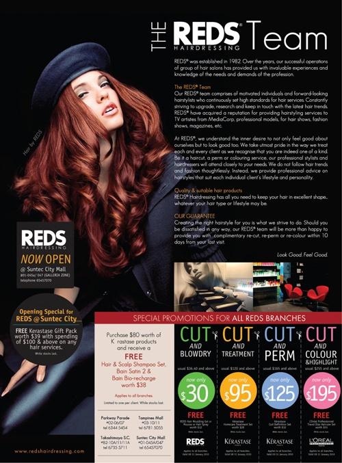 Darren Gabriel Leow - REDS Hairdressing