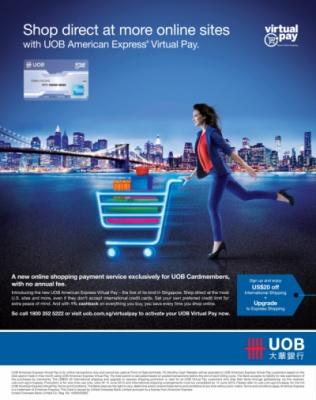 Darren Gabriel Leow - UOB American Express® Virtual Pay