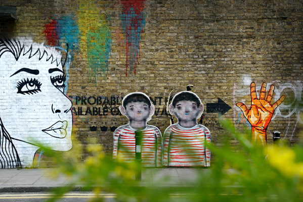 Steven Parker Photography - York based photographer - Twins wall art by Corpse London