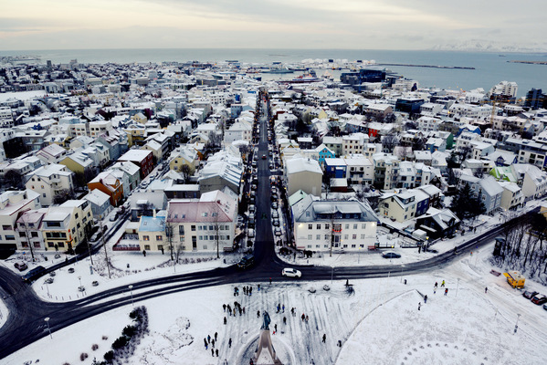 Steven Parker Photography - York based photographer - Reykjavik Cityscape