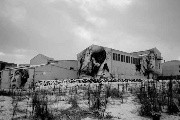 Steven Parker Photography - York based photographer - Hell Is Other People wall art by Guido Van Helten Reykjavik