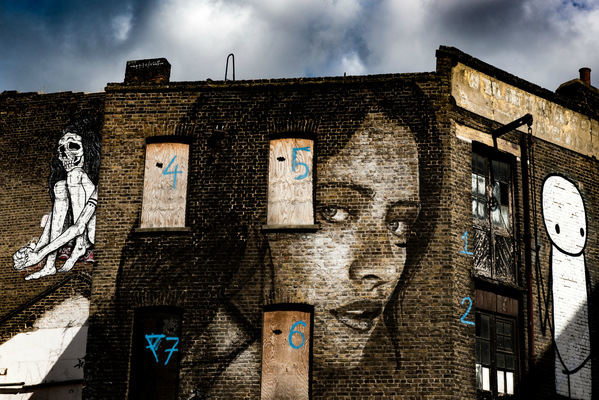 Steven Parker Photography - York based photographer - Four Eyes wall art by Rone & Stik London