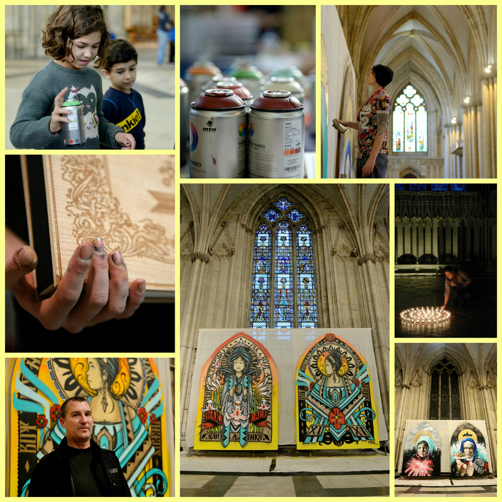 Steven Parker Photography - York based photographer - Coverage for York Minster of their Saints & Heroes event