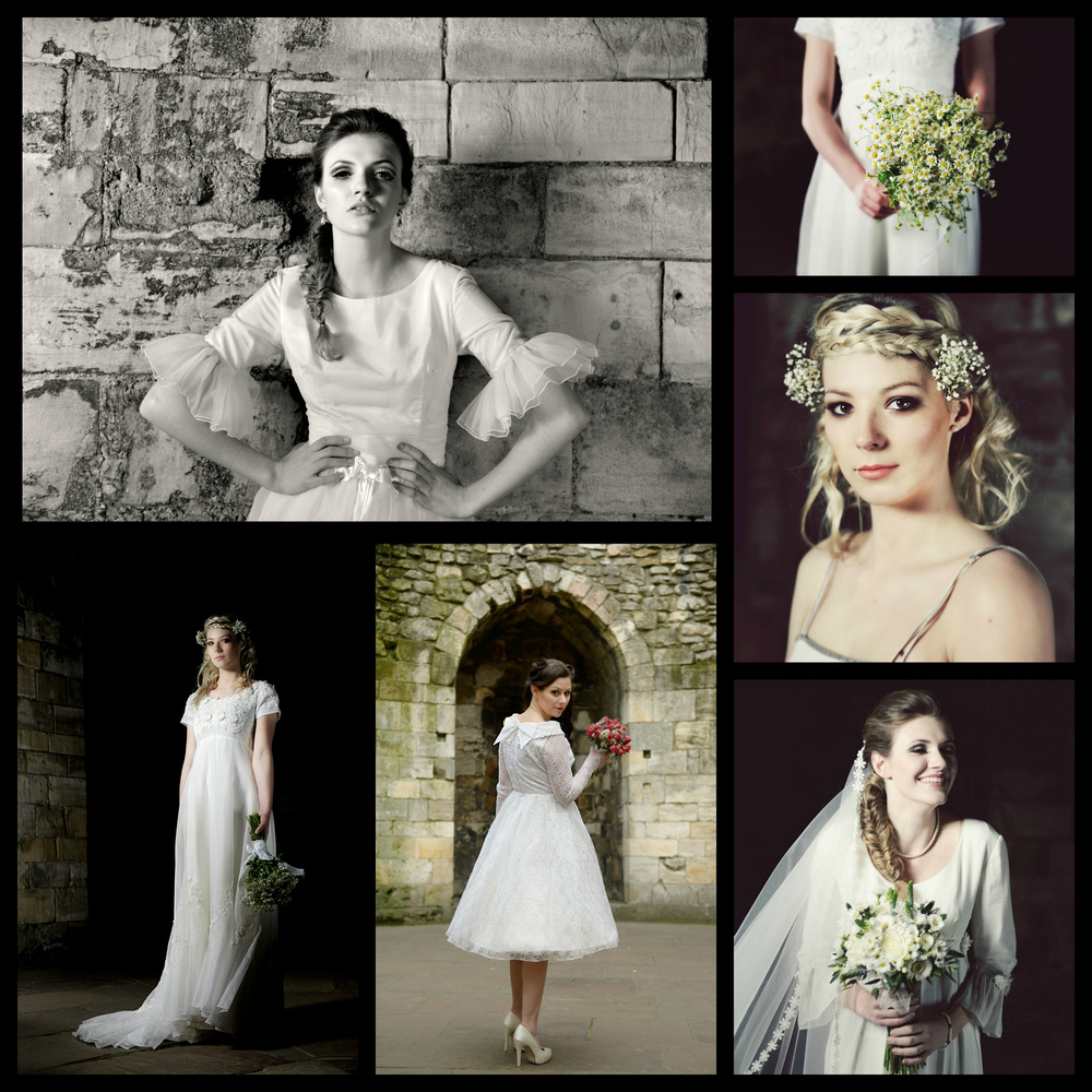 Steven Parker Photography - York based photographer - Fashion shoot for vintage bridal shop Glory Days Vintage