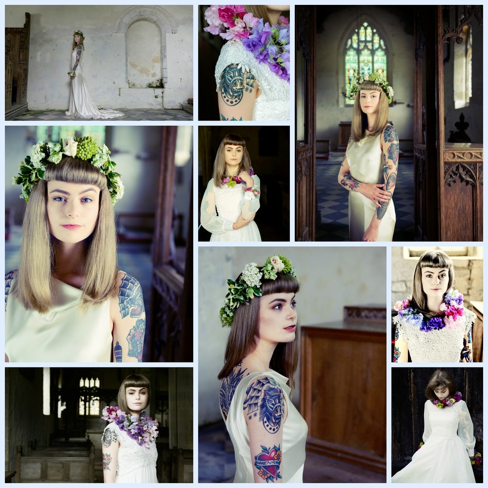 Steven Parker Photography - York based photographer - Fashion shoot for York vintage bridal shop Glory Days Vintage
