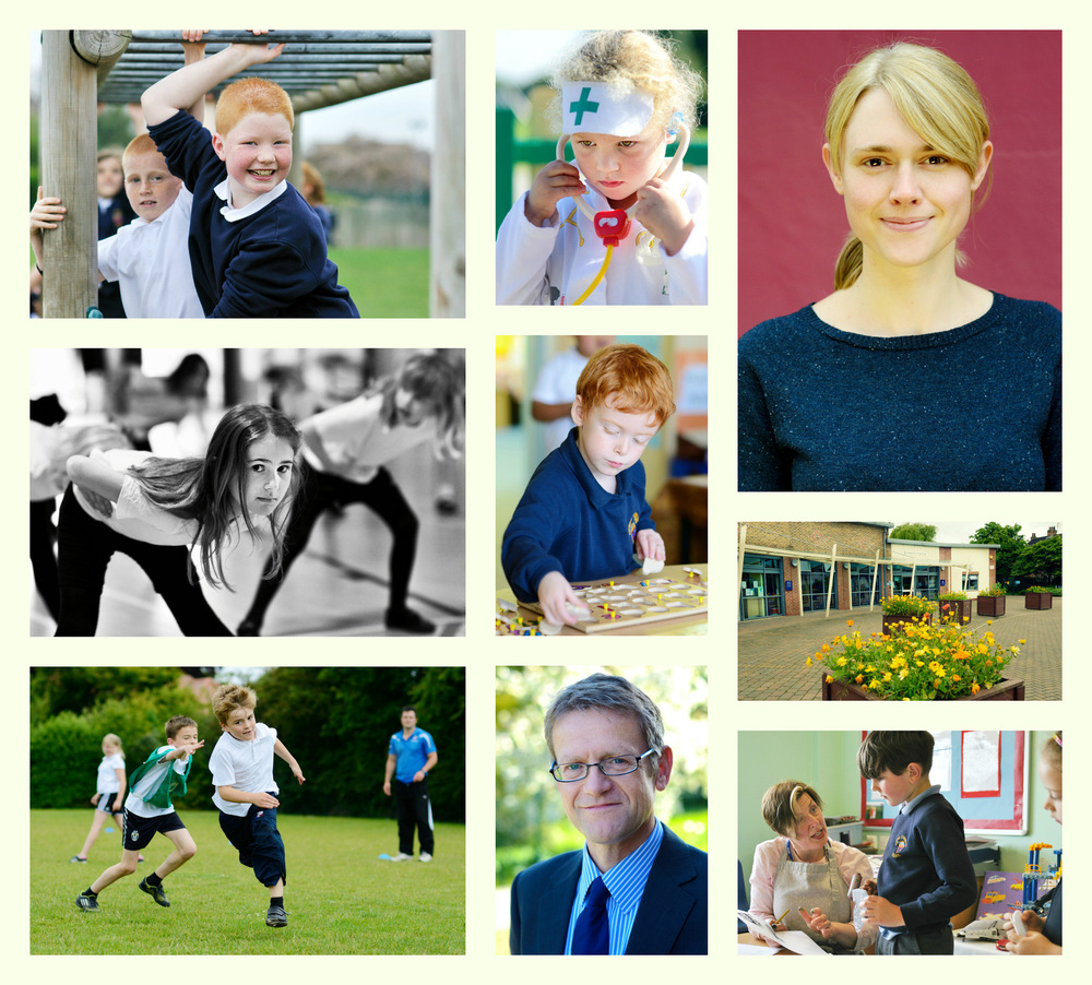 Steven Parker Photography - York based photographer - A brief to supply photography for the school website and large format prints to hang in the corridors, St Oswalds Primary.