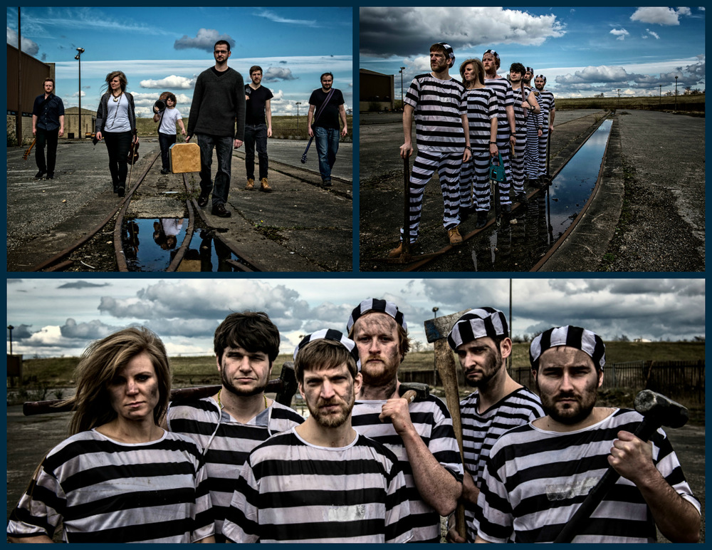 Steven Parker Photography - York based photographer - Promotional shoot for folk rockers Blackbeards Tea Party