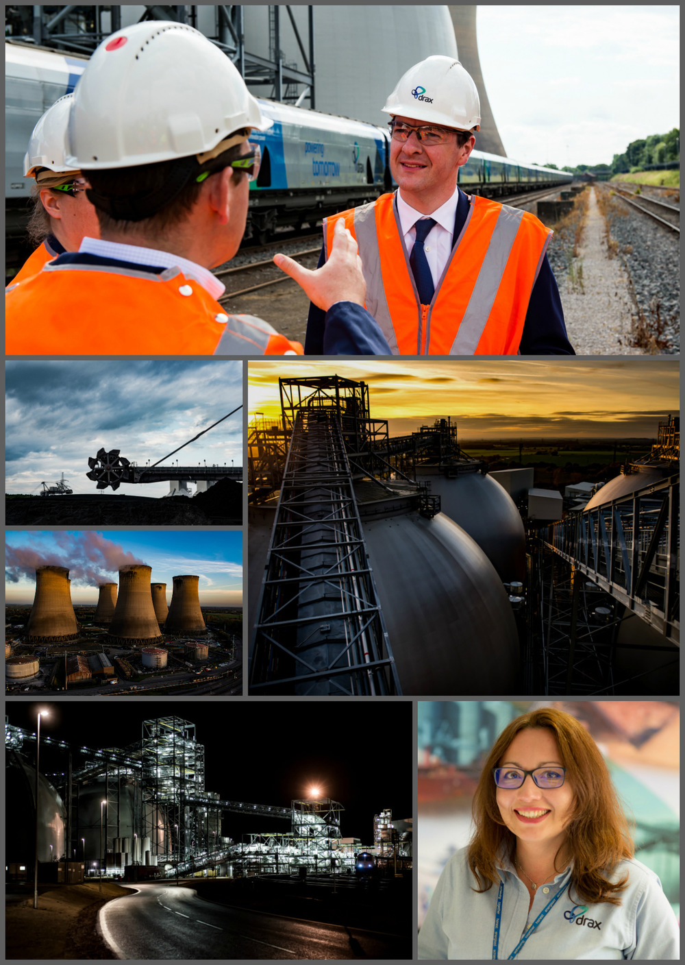 Steven Parker Photography - York based photographer - Commercial & industrial photography for Drax Power Ltd