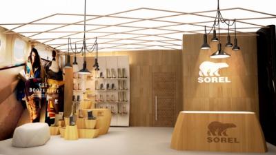 John Moncayo Prtfolio - Sorel Lounge Render A