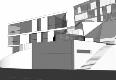 Pallaoro Balzan e Associati - Studio di lottizzazione per area residenziale, San Marco Drive, Hollywood, CA, USA