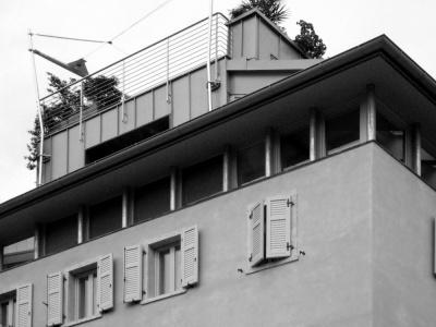 Pallaoro Balzan e Associati - Ristrutturazione di edificio, via Roggia Grande, Trento