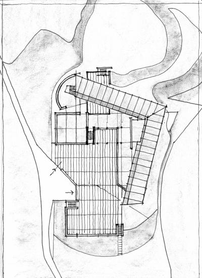Pallaoro Balzan e Associati - Studio preliminare per struttura ricettiva, Camposilvano, Vallarsa, Trento