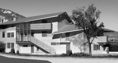 Pallaoro Balzan e Associati - Edificio residenziale, Ravina, Trento