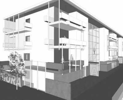 Pallaoro Balzan e Associati - Edificio residenziale, Roncafort, Trento