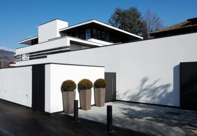 Pallaoro Balzan e Associati - Progetto preliminare, definitivo ed esecutivo per Casa FFF, via Falzolgher, Trento