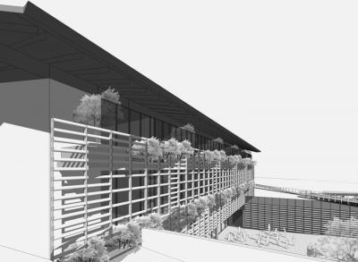 Pallaoro Balzan e Associati - Progetto preliminare per nuova scuola elementare, Cles, Trento