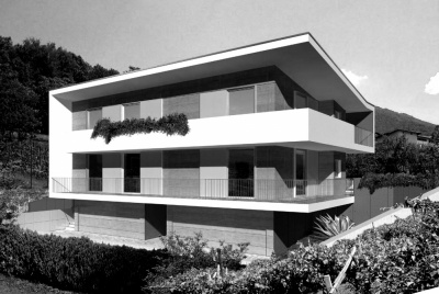 Pallaoro Balzan e Associati - Edificio bifamiliare, Villazzano, Trento