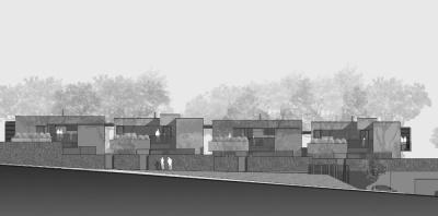 Pallaoro Balzan e Associati - Progetto per quattro case, Zell di Cognola, Trento