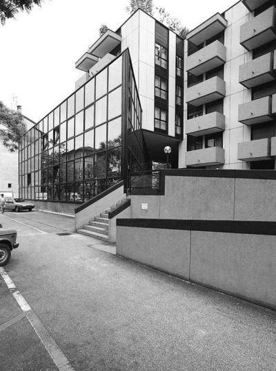 Pallaoro Balzan e Associati - Edificio residenziale e direzionale, Trento