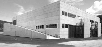 Pallaoro Balzan e Associati - Nuovo centro artigianale, Lamar di Gardolo, Trento