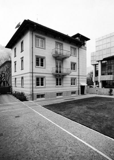 Pallaoro Balzan e Associati - Ristrutturazione casa dabitazione, via Inama, Trento