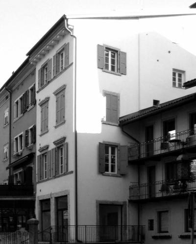 Pallaoro Balzan e Associati - Ristruttrazione edificio in via Suffragio, Trento