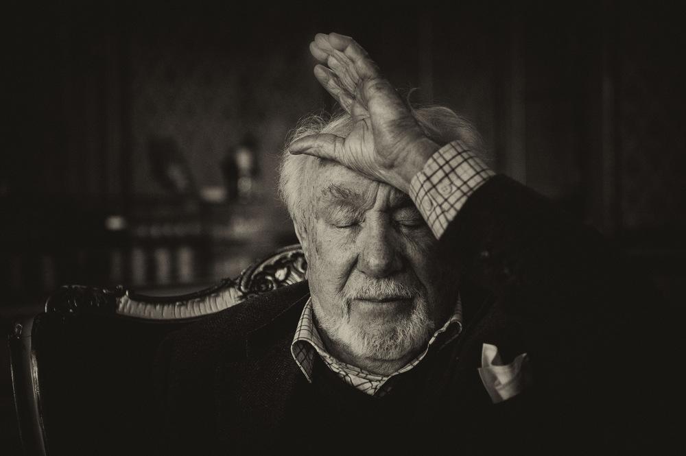 John T. Pedersen Photography - Espen Skjønberg, actor.