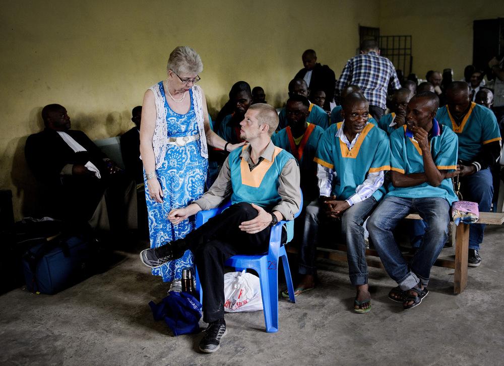John T. Pedersen Photography - 2013-2014 DR. Congo Trial of Joshua French