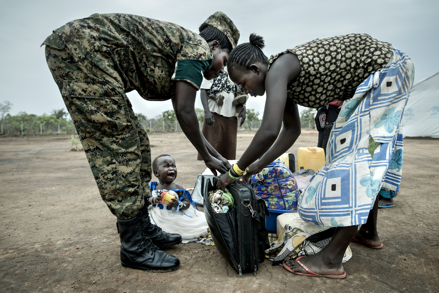 John T. Pedersen Photography - The refugees are carefully checked before a residence permit is granted.