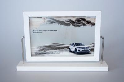 Laura Bender Design Portfolio - Volkswagen Touareg Sonderidee Sandbild