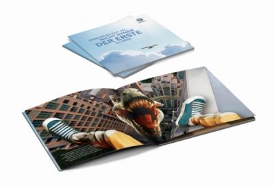 """Laura Bender Design Portfolio - Volkswagen Gebrauchtwagen Story-Broschüre """"Manchmal sollte man nicht der erste sein."""""""