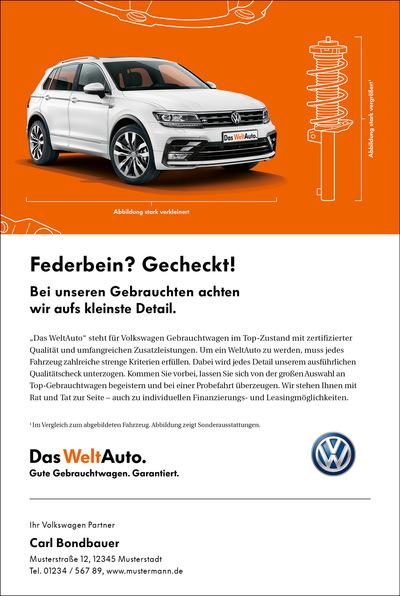 Laura Bender Design Portfolio - Das WeltAuto – neues Design und Imagekampagne 2017